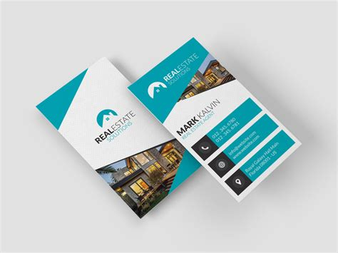 real estate business card  graphic pick