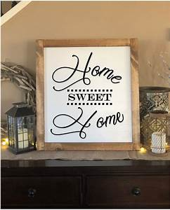 Large, Home, Sweet, Home, Farmhouse, Sign