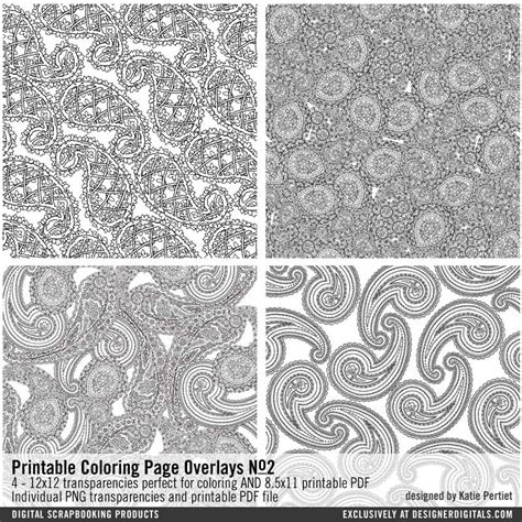Coloring Overlays by Printable Coloring Book Page Overlays No 02