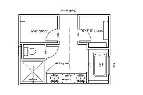master bathroom layout designs photo