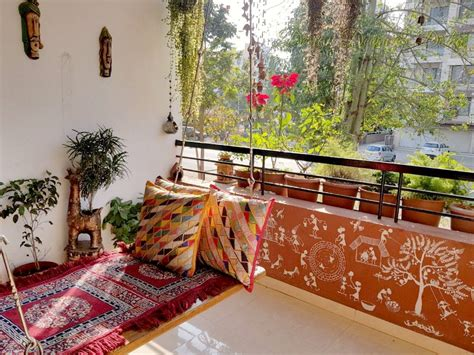 Balcony Sit out home ideas in 2019 Indian home decor
