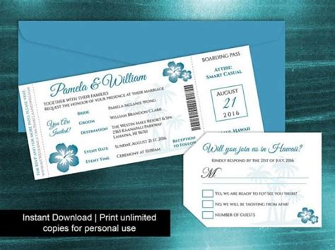 Diy Printable Wedding Boarding Pass Luggage Tag Template Diy Printable Wedding Boarding Pass Luggage Tag Template
