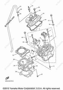Yamaha Motorcycle 2007 Oem Parts Diagram For Cylinder