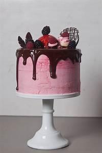 : Drip Cake: Himbeer Schokoladentorte mit