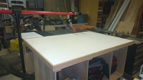 craftsman contractors table  outfeed table