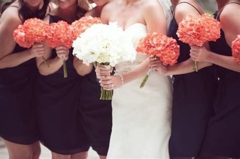 17 Best Images About Navy And Coral Wedding Theme On