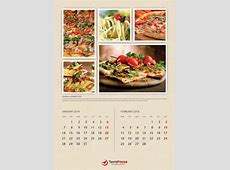 Cook And Food Calendars 2019 Bundle 02 by rapidgraf
