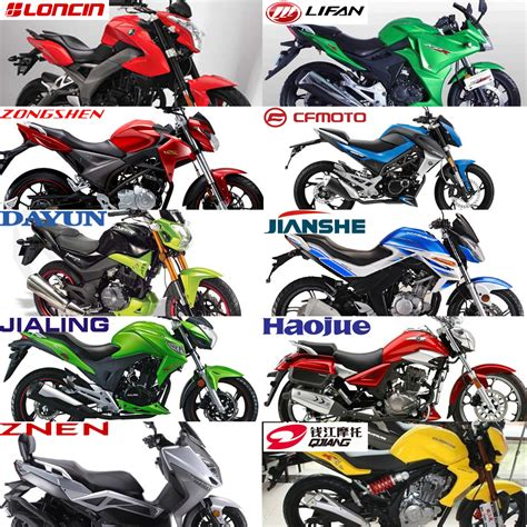 Types Of Motorbikes With Names
