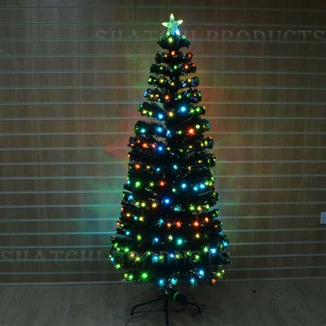 led fibre optic christmas tree with various design and