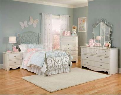 Bedroom Furniture Wallpapers Bed Rose Sets Wrought