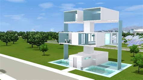 Mod The Sims  The Plugs  Modern House (no Cc
