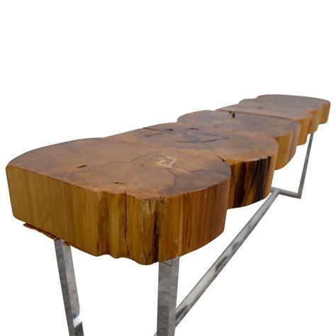 Custom coffee tables handmade wood coffee tables custommade com. 79% OFF - Custom Cut Natural Wood Coffee Table / Tables