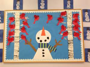 Preschool Winter Bulletin Board