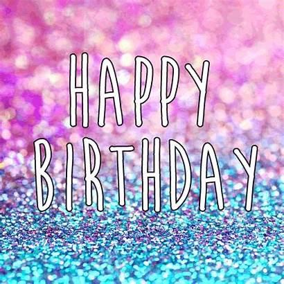 Birthday Happy Glittery Ecard Sparkle Card Ecards