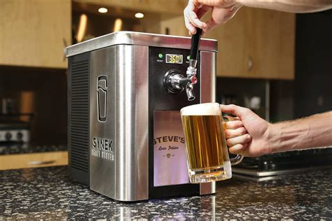 The Synek Craft Brew Dispenser Is Like A Keurig For Beer Round Coffee Table Oak Glass And Wood Used Hamilton Nz Ikea Hack Tables Johannesburg Marble Uk Ebay Australia