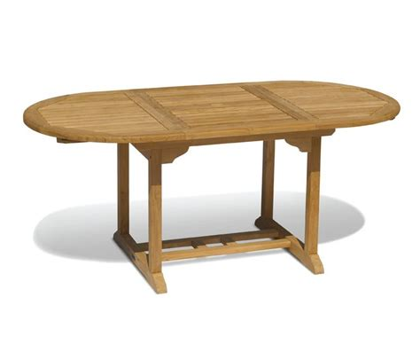 brompton teak extendable outdoor dining table