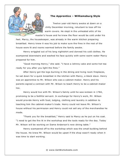 Reading Comprehension Stories With Questions Grade 2  Comprehension Skills Short Passages For