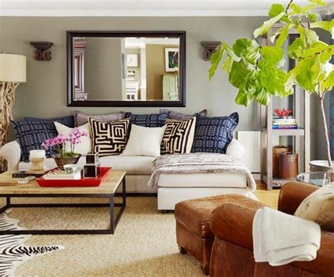 canapé d angle avec coussin le canapé d 39 angle en cuir 60 idées d 39 aménagement