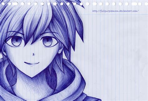 drawn anime  pencil   color drawn anime