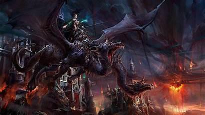 Dragon Backgrounds 1080p Wallpapers Desktop Computer Fantasy