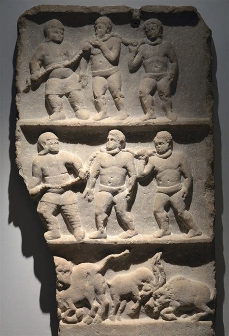 roman slaves relief slab illustration ancient history