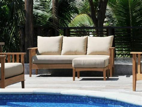 les canap駸 en bois canape exterieur bois maison design wiblia com