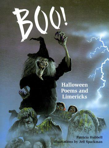 boo halloween poems  limericks  patricia hubbell