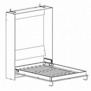 Mécanisme Lit Escamotable : kit m canisme lit simple vertical wbs distribution europe ~ Voncanada.com Idées de Décoration