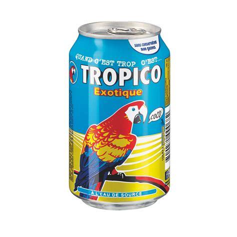 bureau bruneau tropico exotique canette 33 cl de 24 jus de fruits