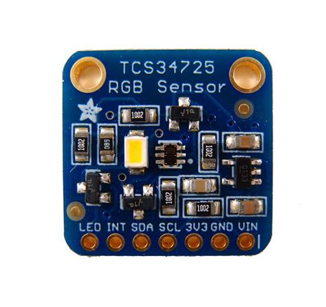 color sensor color sensor tcs34725 rgb with ir filter adafruit