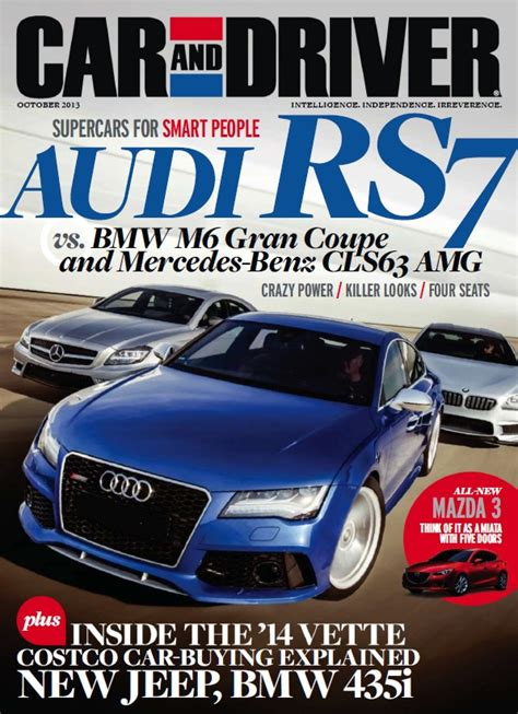 car and driver magazine deals housekeeping and car and driver for