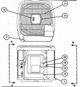 Carrier Model 38yxa036 Series300 Air Heat Pump