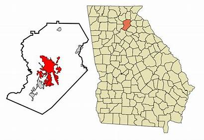 Georgia Gainesville Hall County Svg Clermont Branch