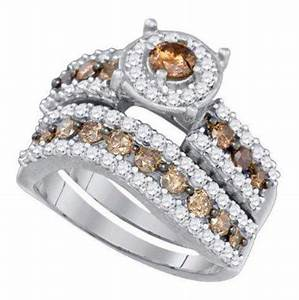 26 impactful chocolate diamonds wedding rings navokalcom With chocolate diamond wedding ring set