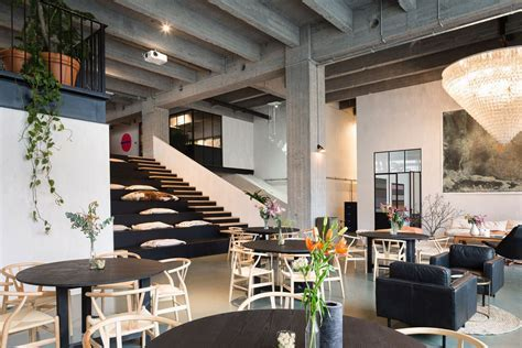 NYC?s High Line inspired this sleek coworking space in