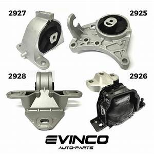 New 2001  2007 Chrysler Town  U0026 Country 3 3l 3 8l Engine Motor  U0026 Trans Mount 4 Set