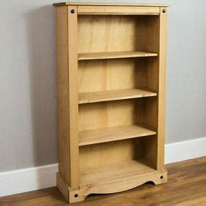 Mexican Bookcase by Corona Medium Bookcase Solid Pine Mexican Shelves Storage