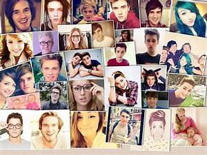 youtubers collage | YouTube | Pinterest | Youtubers ...