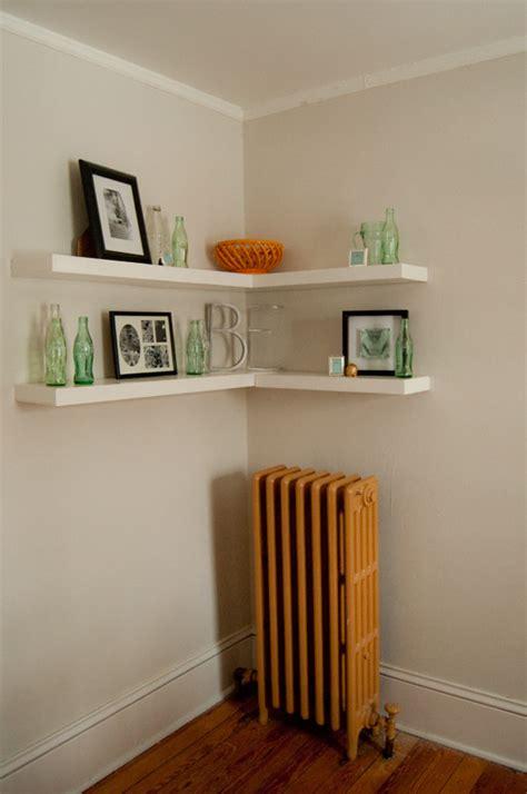 floating corner shelf floating shelves revisited apartments i like