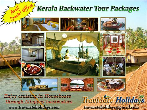 Kerala Boat House Cheap Rates by Kerala House Boat Tour Packages Through Kerala Backwaters