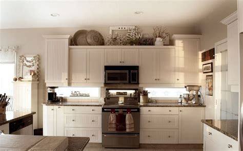 decorating ideas for above kitchen cabinets best kitchen decor aishalcyon org ideas for decorating