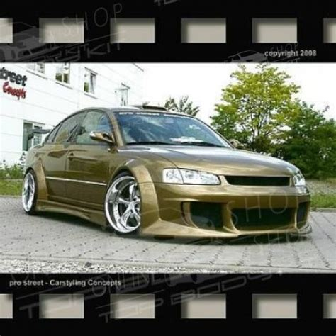 vw passat  wide body kit