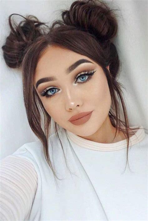 romantic hair  makeup ideas    valentines