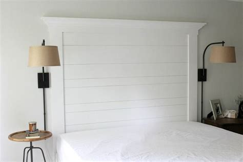 custom wall treatments     shiplap