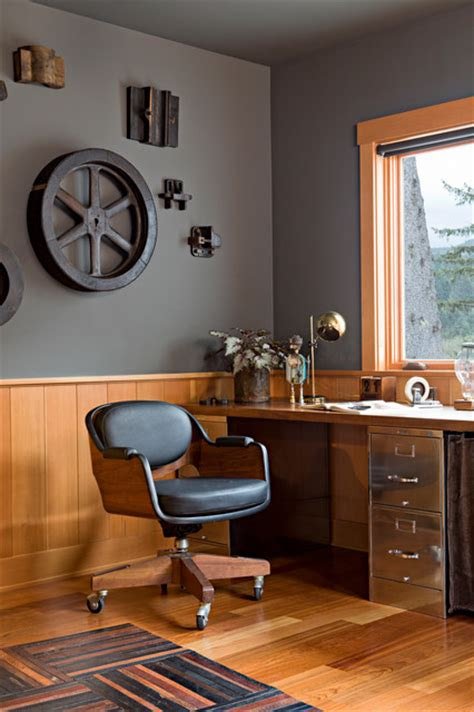 20 industrial home office style concepts for