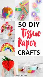 Tissue Paper Crafts: 50 DIY Ideas You Can Make With the