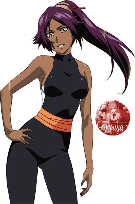Anime Bleach Yoruichi Yoruichi Shihouin Render 61 By Furiya Sama On Deviantart