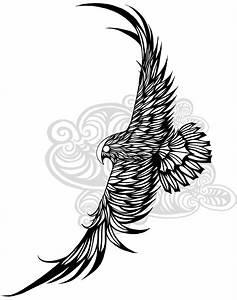 A falcon design i created for my latest tattoo. Still ...