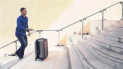 Climbing Luggage Stair Suitcase Pack Kickstarter