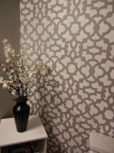 moroccan stencil ideas  pinterest moroccan